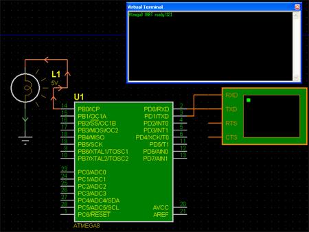 ATMega8 / Приёмопередатчик UART